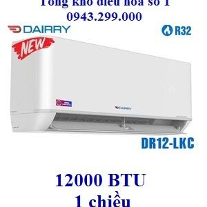 Điều hòa Dairry 1 chiều 12000BTU DR12-LKC
