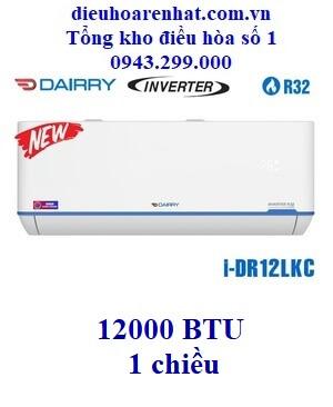 Điều hòa Dairry 1 chiều 12000BTU inverter i-DR12LKC