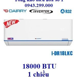 Điều hòa Dairry 1 chiều 18000BTU inverter i-DR18LKC