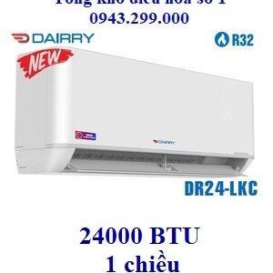 Điều hòa Dairry 1 chiều 24000BTU DR24-LKC