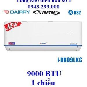 Điều hòa Dairry 1 chiều 9000BTU inverter i-DR09LKC