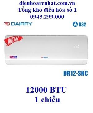 Điều hòa Dairry 12000 BTU 1 chiều DR12-SKC