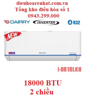 Điều hòa Dairry 2 chiều 18000BTU inverter i-DR18LKH