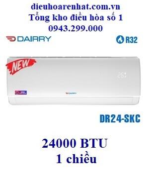 Điều hòa Dairry 24000 BTU 1 chiều DR24-SKC