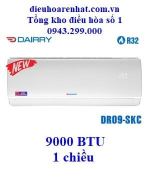 Điều hòa Dairry 9000 BTU 1 chiều DR09-SKC