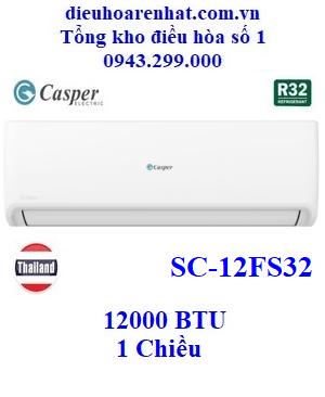 Điều hòa Casper 1 chiều 12000BTU SC-12FS32