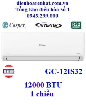 Điều hòa Casper 1 chiều inverter 12000 BTU GC-12IS32