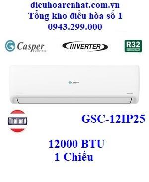 Điều hòa Casper 1 chiều inverter 12000 BTU GSC-12IP25