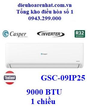 Điều hòa Casper 1 chiều inverter(wifi) 9000 BTU GSC-09IP25