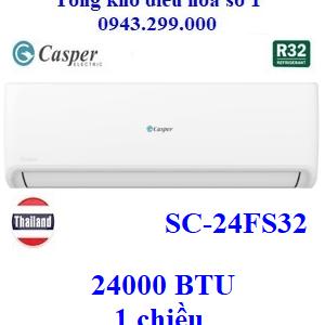 Điều hòa Casper 24000BTU 1 chiều SC-24FS32