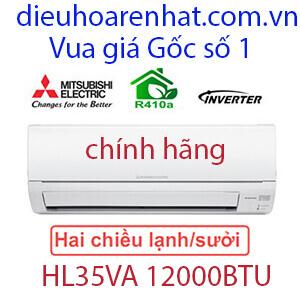Điều hòa Mitsubishi Electric 2 chiều Inverter 12000btu MUZ/MSZ-HL35VA