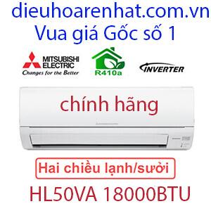 Điều hòa Mitsubishi Electric 2 chiều Inverter 18000btu -HL50VA (1)
