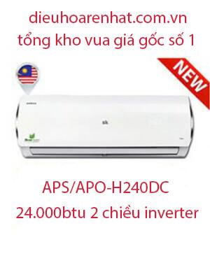 Điều hòa Sumikura APS.APO-H240DC 24.000btu 2 chiều inverter.. (1)