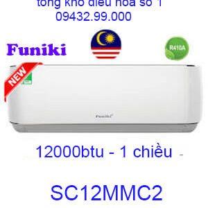 Điều hòa Funiki 12000Btu 1 chiều SC12MMC2