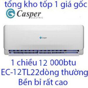 điều hòa casper 12000btu 1 chiều EC-12TL22 chính hãng