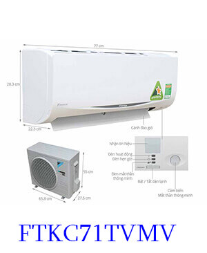 Điều-hòa-Daikin-FTKC71TVMV-24000btu-1-chiều-1