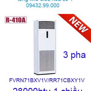 Điều hòa tủ đứng Daikin 28.000BTU FVRN71BXV1V/RR71CBXY1V 3 pha