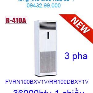 Điều hòa tủ đứng Daikin 36000Btu 3 pha FVRN100BXV1V/RR100DBXY1V