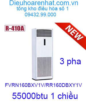 Điều hòa tủ đứng Daikin 55000btu 3 pha FVRN160BXV1V/RR160DBXY1V