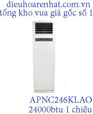 Điều hòa tủ đứng LG 24000btu 1 chiều APNC246KLAO.1