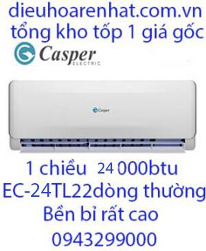 Casper EC-24TL22,Điều hòa casper 24000btu 1 chiều-Vua Gía Rẻ