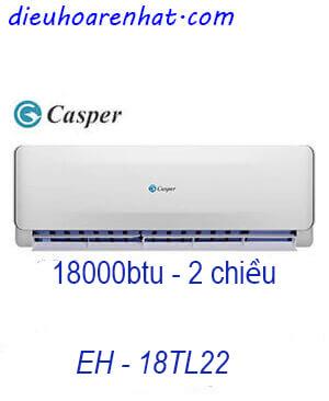 Casper EH-18TL22 Điều hòa casper 18000btu 2 chiều Vua Gía Gốc