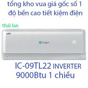 Casper IC-09TL22 Điều hòa casper 9000btu 1 chiều inverter Vua Gía Gốc