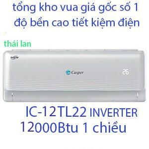 Casper IC-12TL22 Điều hòa casper 12000btu 1 chiều inverter Vua Giá Gốc