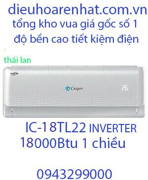 Casper IC-18TL22 Điều hòa casper 18000btu 1 chiều inverter Vua Gía Gốc