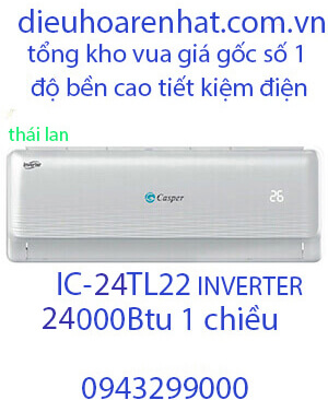 Casper IC-24TL22 Điều hòa casper 24000btu 1 chiều inverter Vua Gía Gốc