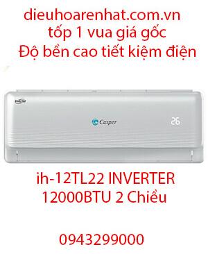 Casper IH-12TL22 Điều hòa casper inverter 12000btu 2 chiều-Vua Rẻ