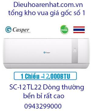 Casper SC-12TL22 điều hòa casper 12000btu 1 chiều-Vua giá Gốc