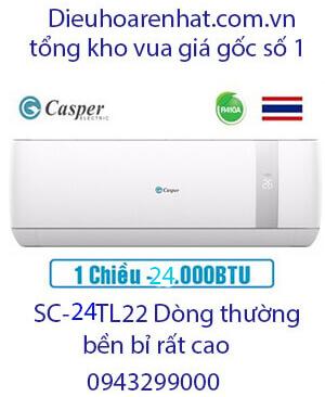 Casper SC-24TL22 điều hòa casper 24000btu 1 chiều-Vua giá Gốc
