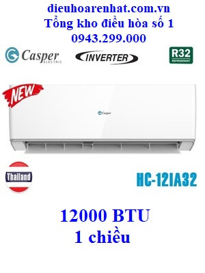 Điều hòa Casper 1 chiều Inverter HC-12IA32 12000 BTU