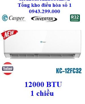 Điều hòa Casper 1 chiều Inverter KC-12FC32 12000 BTU