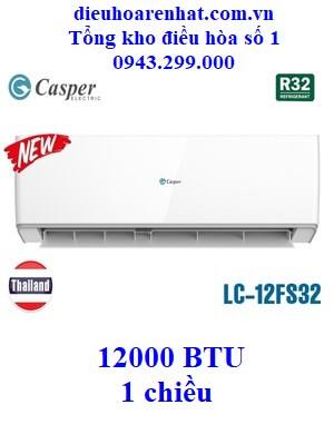 Điều hòa Casper 1 chiều LC-12FS32 12000 BTU