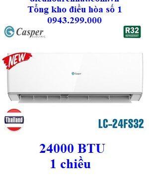 Điều hòa Casper 1 chiều LC-24FS32 24000 BTU