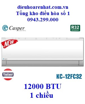 Điều hòa Casper 1 chiều KC-12FC32 12000 BTU