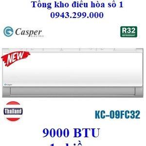 Điều hòa Casper 1 chiều KC-09FC32 9000 BTU