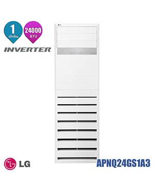 LG APUQ24GS1A3 Điều hòa tủ đứng LG 24000btu inverter 1 chiều.RẺ
