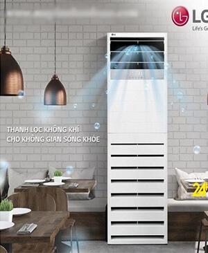 LG APUQ30GR5A3 Điều hòa tủ đứng LG 28000btu inverter 1 chiều.giá Rẻ
