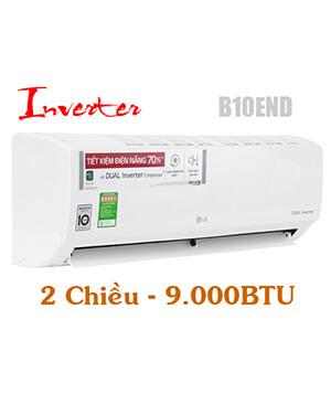 LG B10END Điều hòa LG 9000btu inverter 2 chiều-Vua giá Gốc