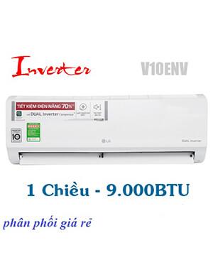 LG V10ENV Điều hòa LG 9000btu inverter 1 chiều-Vua giá Gốc