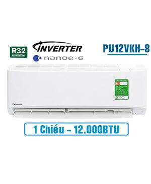 Panasonic PU12VKH-8 Điều hòa panasonic 12000btu inverter 1 chiều.Rẻ