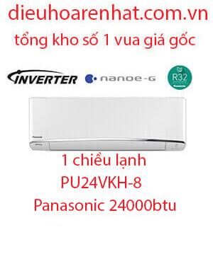 Panasonic PU24VKH-8 Điều hòa panasonic 24000btu inverter 1 chiều.Rẻ