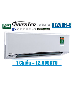 panasonic U12VKH-8 Điều hòa panasonic 12000btu inverter 1 chiều.Rẻ