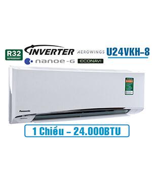 panasonic U24VKH-8 Điều hòa panasonic 24000btu inverter 1 chiều.Rẻ