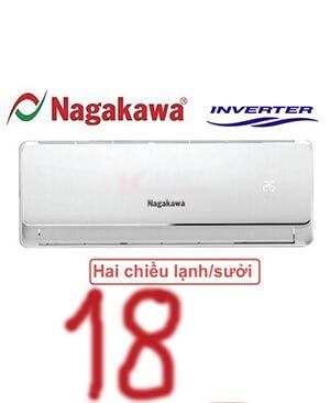 Điều hòa nagakawa NIS-A18IT 18000btu inverter 2 chiều-giá rẻ