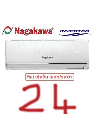 Điều hòa nagakawa NIS-A24IT 24000btu inverter 2 chiều-giá rẻ