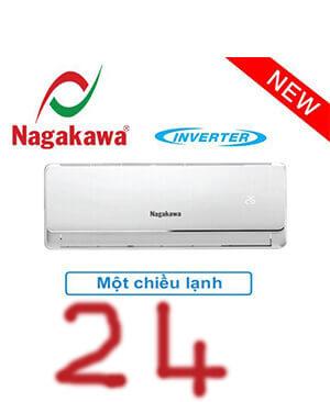 Điều hòa nagakawa NIS-C24IT 24000btu inverter 1 chiều